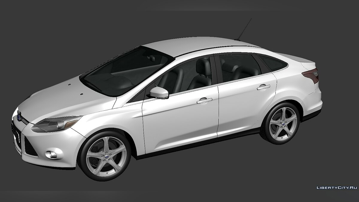 Ford Focus Sedan 2012 для модмейкерів - Картинка #1