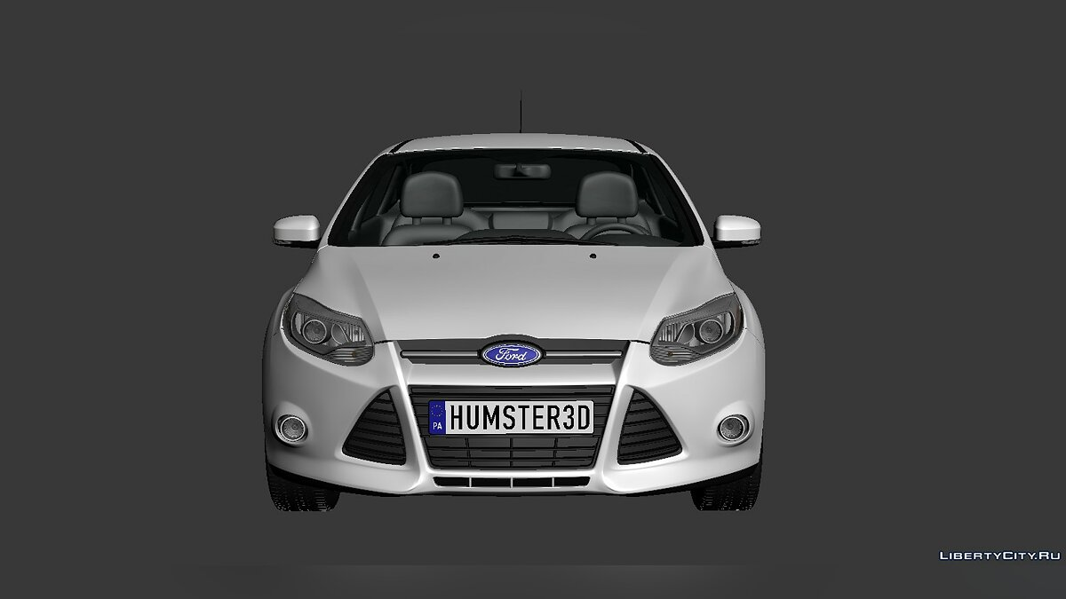 Ford Focus Sedan 2012 для модмейкерів - Картинка #4