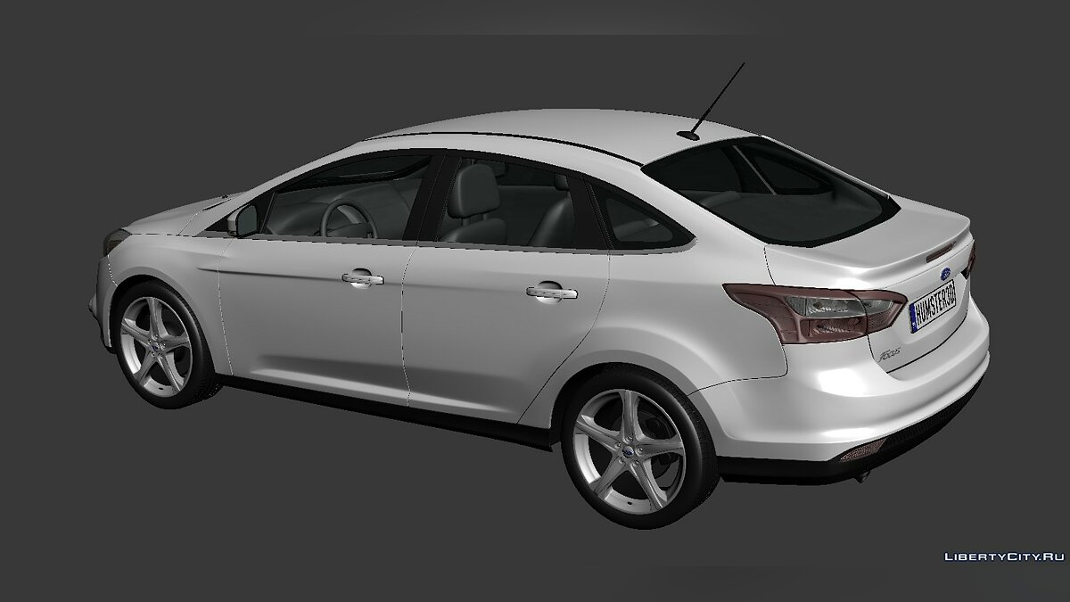 Ford Focus Sedan 2012 для модмейкерів - Картинка #2