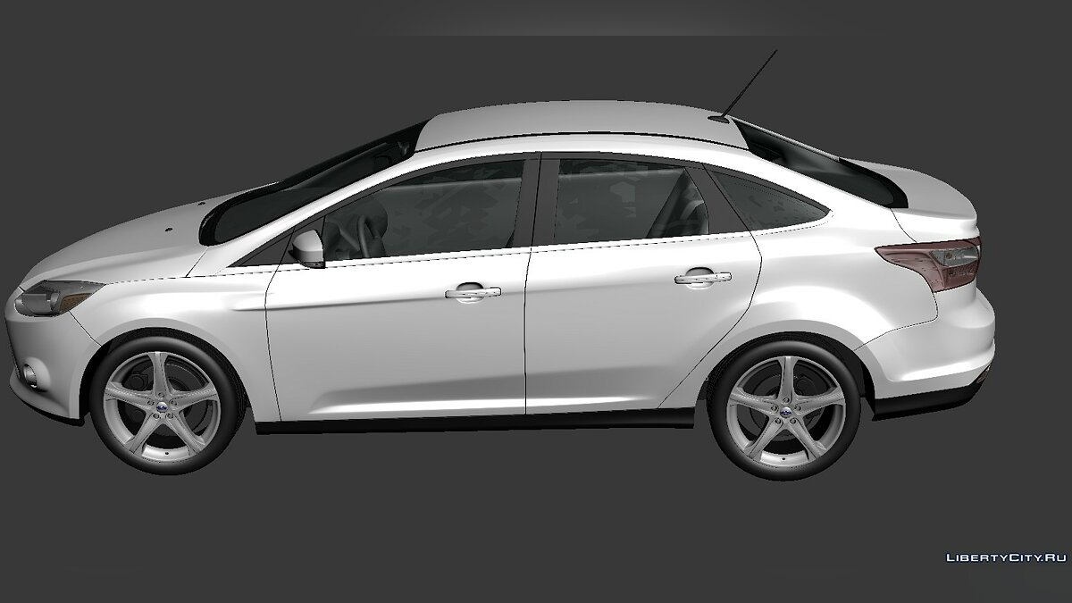 Ford Focus Sedan 2012 для модмейкерів - Картинка #3