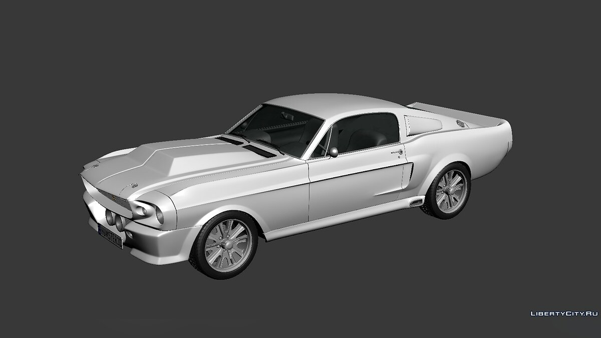 Ford Mustang Shelby GT500 Eleanor 1967 для модмейкерів