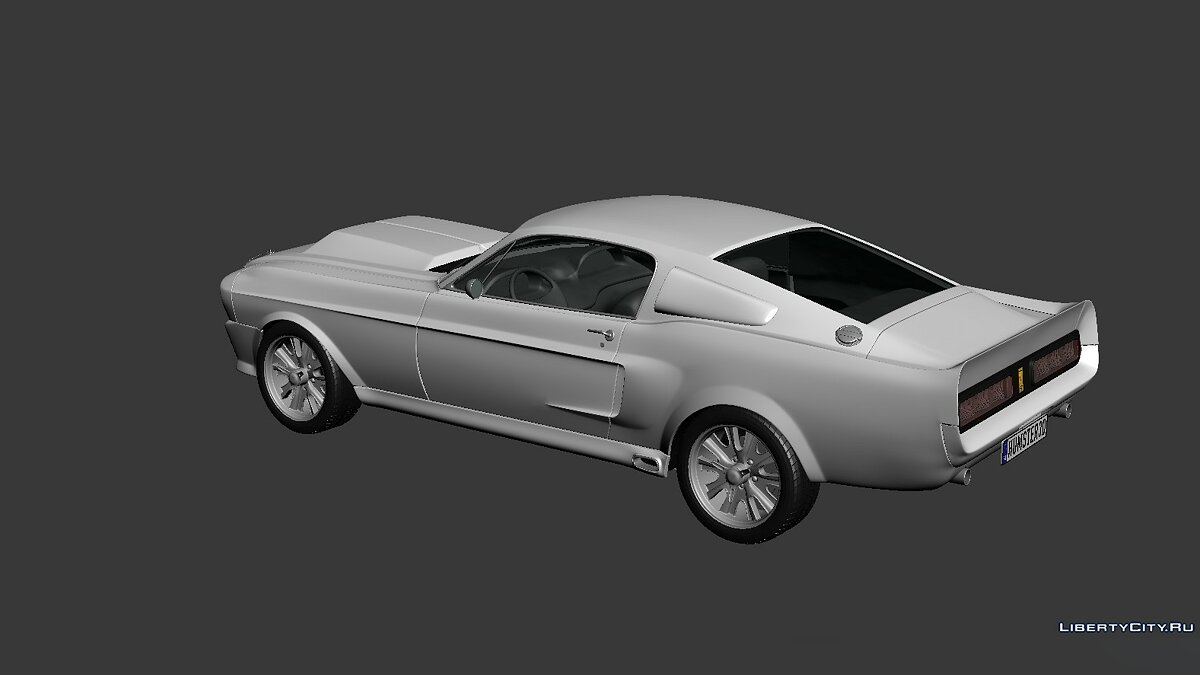 Ford Mustang Shelby GT500 Eleanor 1967 для модмейкерів - скріншот #2