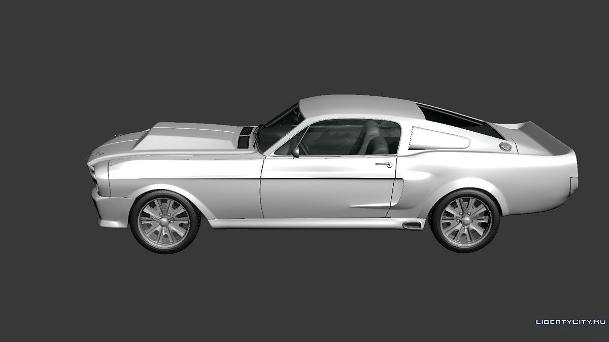 Ford Mustang Shelby GT500 Eleanor 1967 для модмейкерів - скріншот #4