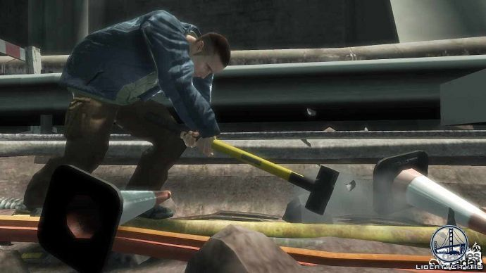 Робочий в GTA 4