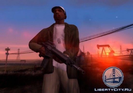 Зброя в GTA SA