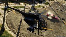 Огонь с вертолета
