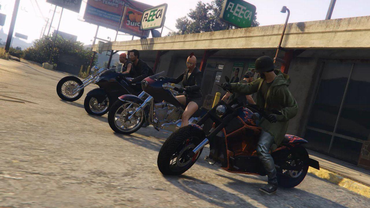 Мотоклубы в гта онлайн